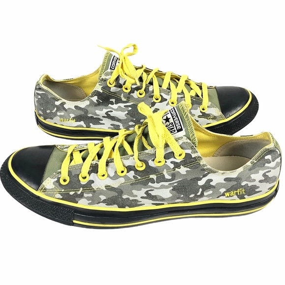 Converse All Star Low Top Warfit Camo Sneakers 14